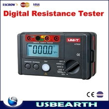 High quality UNI-T UT522 Digital Earth Ground Resistance Tester Lightning Rod Lightning Detector Low tester