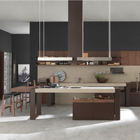 China custom latest classic new fashional High quality american style kitchen cabinet
