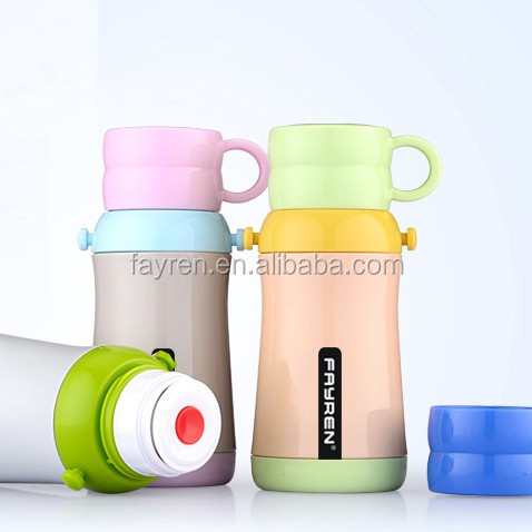 Stainless thermos baby children water bottles