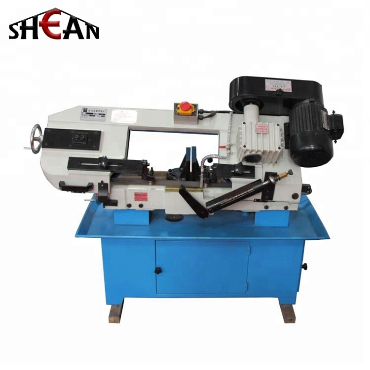 SH-H BS-712N Professional Manufacturer Horizontal Mini Band Saw Machine for Metal Working