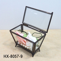 HX-8057 Small crystal trinket boxes