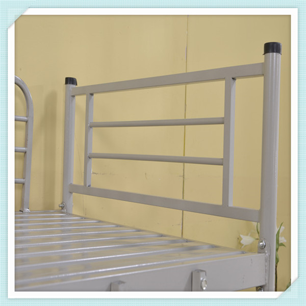 High school metal bed bunk bed for modern student bunk bed