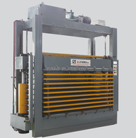 hydraulic particle board hot press machine for door