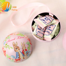 OEM Customized Metal candy Tin Box for packaging