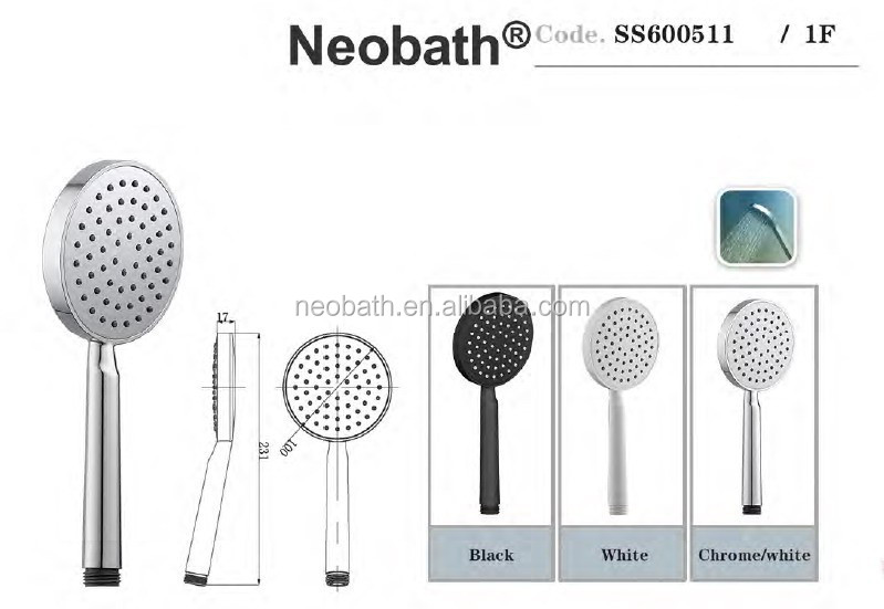 Hot Sell Sanitary Ware for Bathroom Hand Shower Head