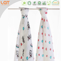 LAT Pre-washed 100% cotton china factory blanket