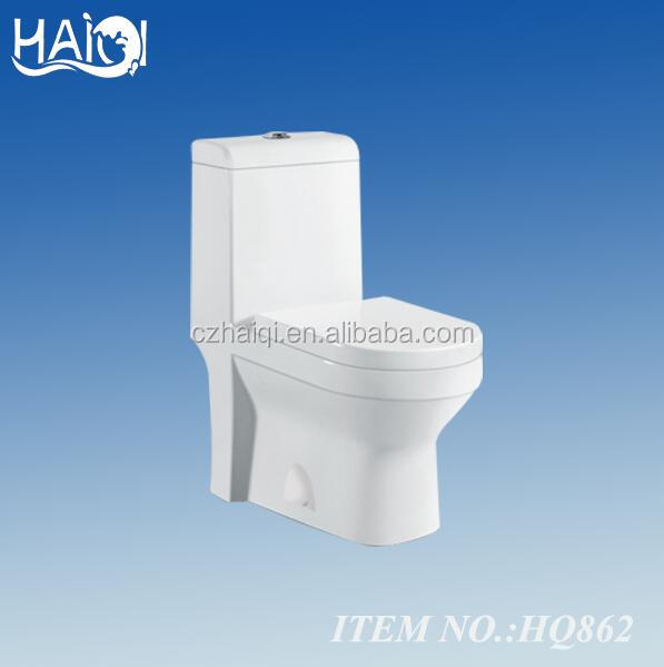 ivory color toilet ceramic wc 862 washdown one piece toilet