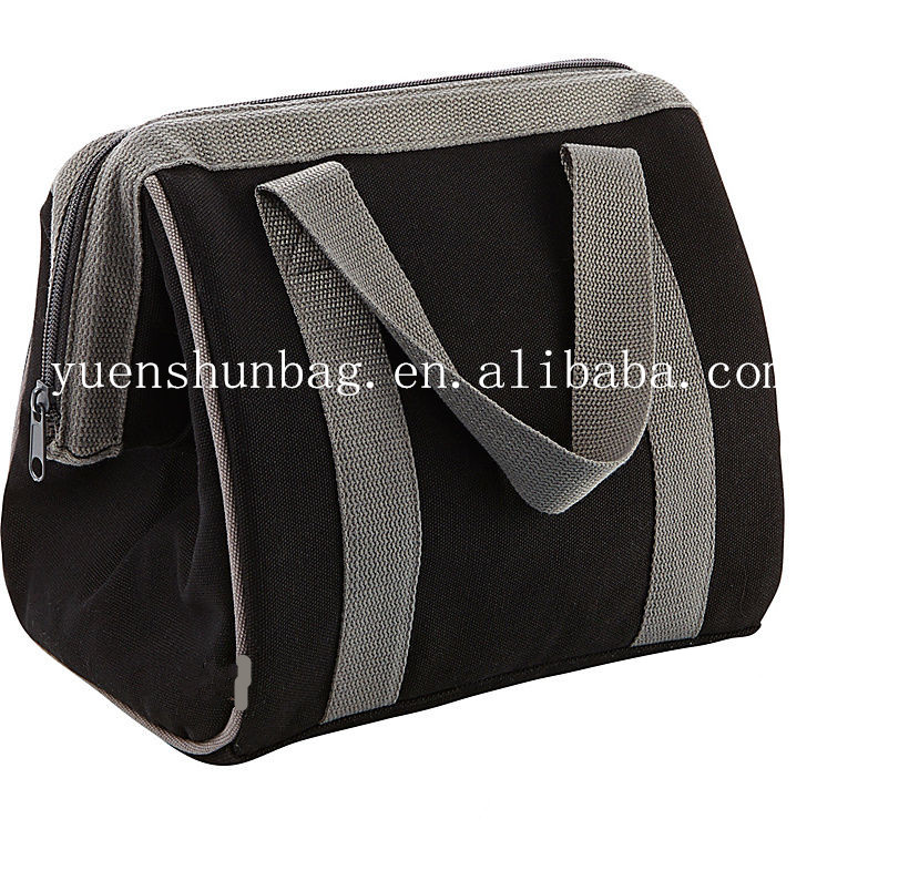 polyester Fit & Fresh Big Insulated Lunch Bag keep food cool and warm cooler bag
