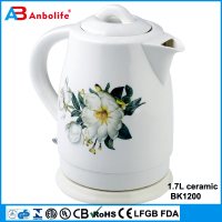Temperature Adjustable Electric Kettle Ceramic Healthy