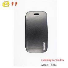 Cheap price mobile phone leather cell phone case for Samsung G313