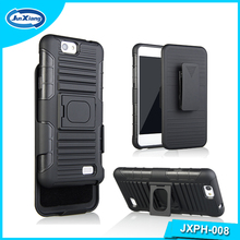 High quality for Belt Clip Holster Case Armor Hard Cover With Kickstand For ZTE A465