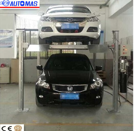 Four Post High Quality And High Quality Car Parking Lift Triple Stacker Parking Lift Parking System
