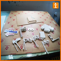 UV Flatbed Print Custom Full Colour High Quality Sign Board Samples