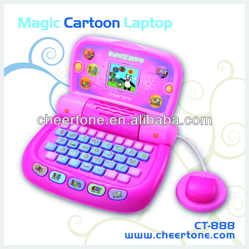 color screen kids laptops multifunctional mini computers of toy for children to study and amuse