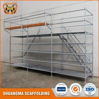 Q235 all-round ringlock scaffolding part for building