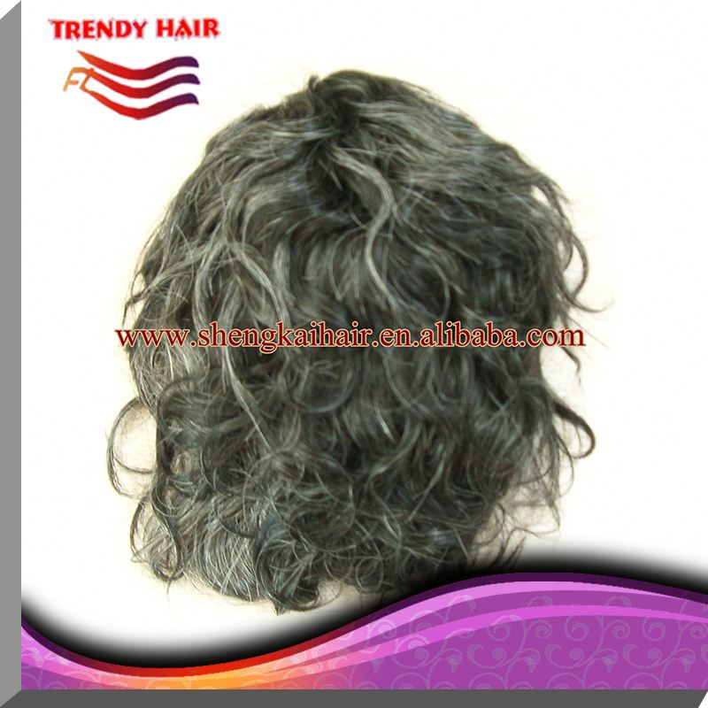 Real Human Hair Toupee For Men 34