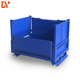 System Metal Mesh Wire Cage Bin Container Collapsible Small Stacking Storage Box