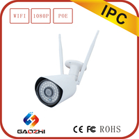 1080p recordable pan titl p2p wifi ip camera with free uid