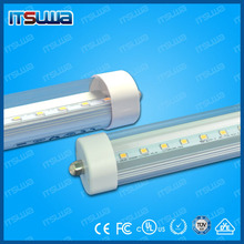 120lm/w CRI>80 LM80 2400mm 96 inch 8 foot 8ft Fa8 single pin T8 led tube