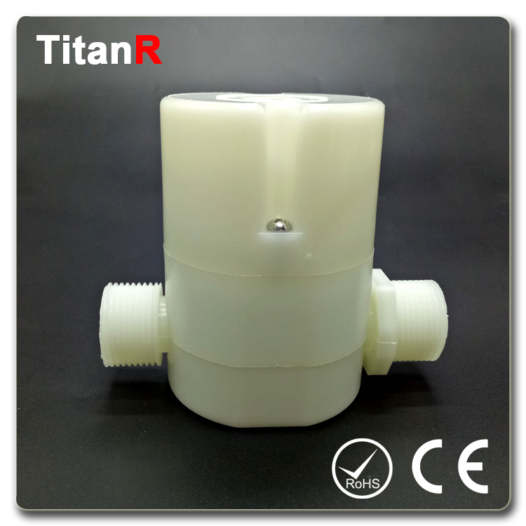 Water level hydraulic flow control valve