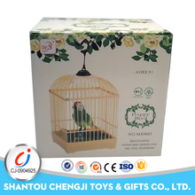 China parrot small electric voice control plastic flying bird toy