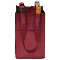 non woven tote wine bags drink pouch with spout packaging plastic wine bag in box