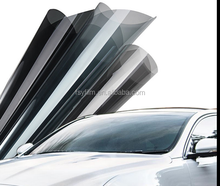 Wholsale solar Black tint film car side and back window glass 1.52*30m