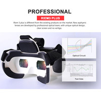 Cheap VR 3D viewing glasses head tracking for playstation 3D VR box for smartphones