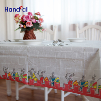 Fashion Designed 37gsm/m2 Super Soft Waterproof Paper Material Waterproof Banquet Tablecloth