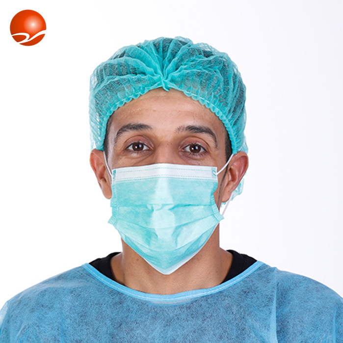 High Quality Medical Consumable Non Woven 3 Ply Surgical Disposable Face Mask
