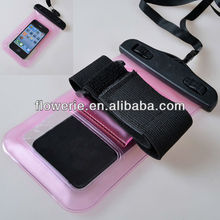 FL2172 2013 Guangzhou hot selling diving waterproof pouch bag dry wristband case cover for mobile phone