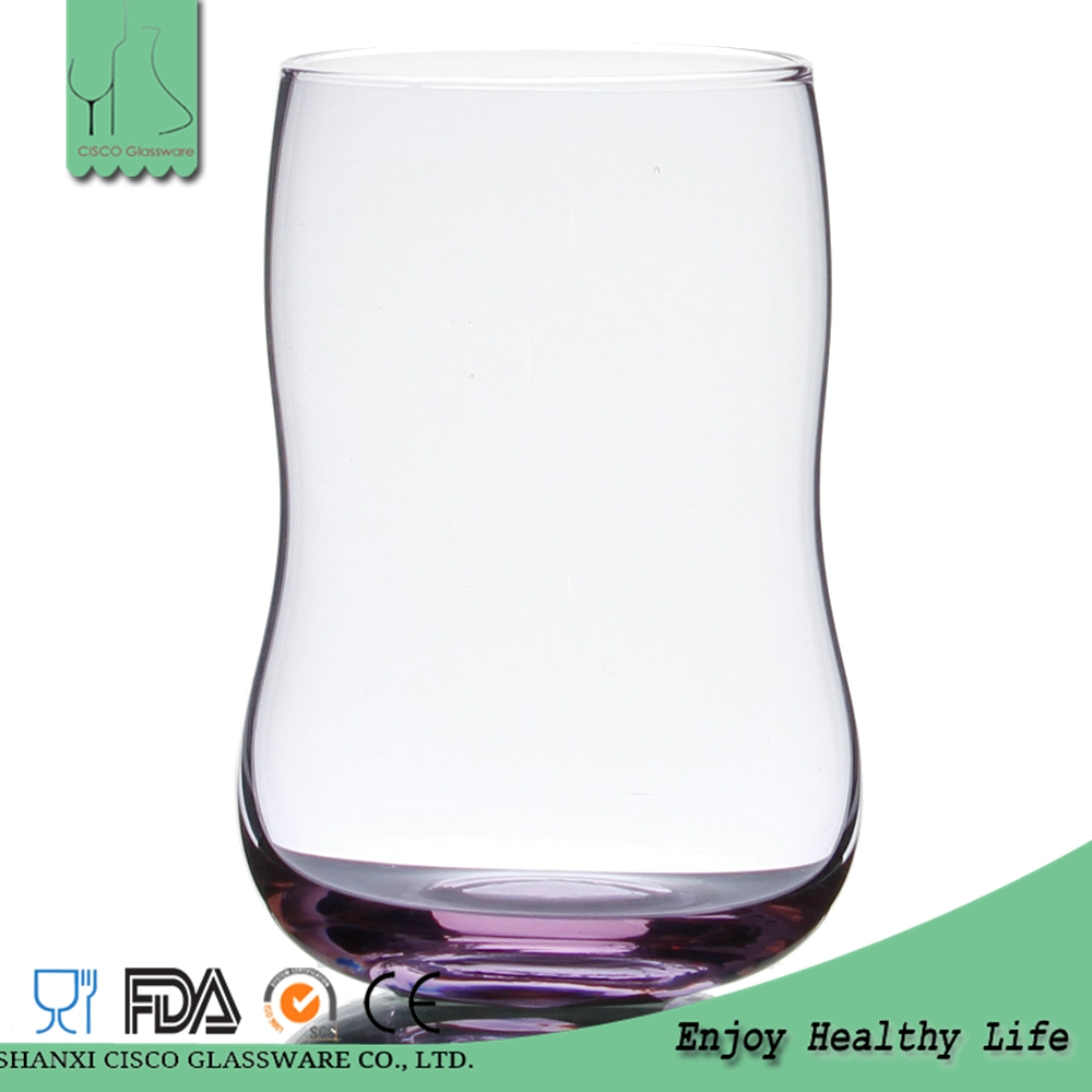 Cisco 2016 New Design Custom Decorative Drinking Water Glass