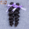 hot promotion wholesale brazilian loose wave virgin hair 3pcs lot
