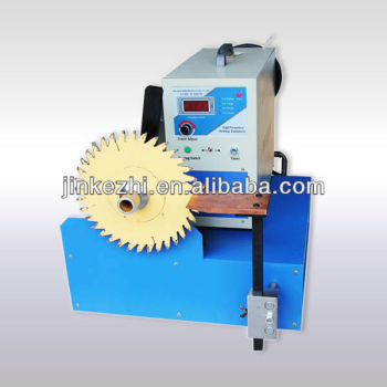 automatic portable induction carbide tip brazing machine