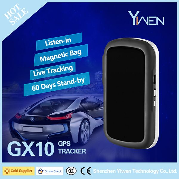 Yiwen Person Pet Car Van Truck Vehicle Luggage Asset Item bicycle SOS button GPS SMS GPRS Vehicle Tracking System Tracker GX10