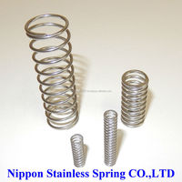 High precision specialty stainless steel compression coil springs for used boats for sale