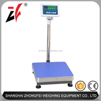 150kg/300kg Alloy steel LED precision digital weighing scale
