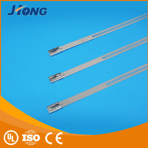 trade manager for mobile cable tie marker tag double loop ladder type stainless steel cable tie with Multi Lock Type