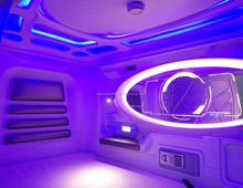 Modular capsule hotel from china hotel capsule space sleeping pod bed