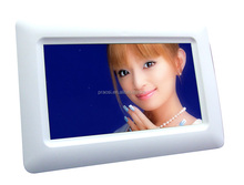 battery powered lcd video monitor 7 inch auto repeat play digital photo frame