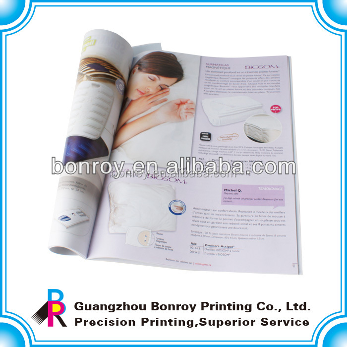 Cheap price offset print magazine