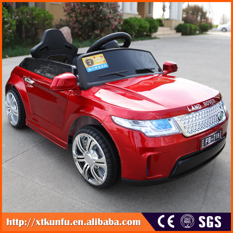 Electric pedal controlled four wheel mini electric kids car