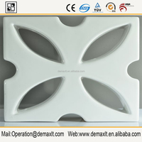 Factory Direct decorative 3 panel ceramic decorative screen room divider