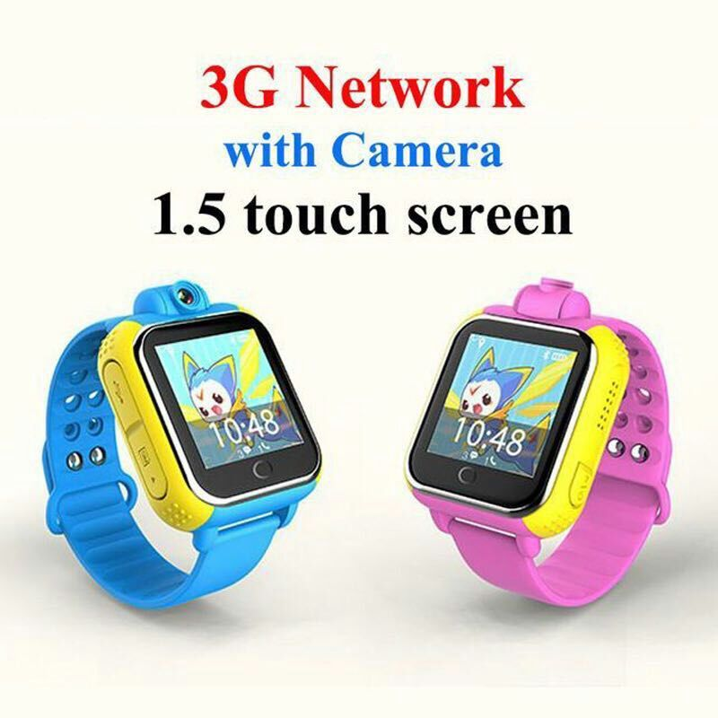 <strong>Q10</strong> GPS Tracker Watch 3G For Kids SOS Emergency WCDMA Rotatable Camera GPS LBS WIFI Location Smart Wristwatch touch screen 1.54'