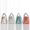 Wholesale outdoors cute tote cooler handbag aluminum foil insulated reusable kids lunch bag