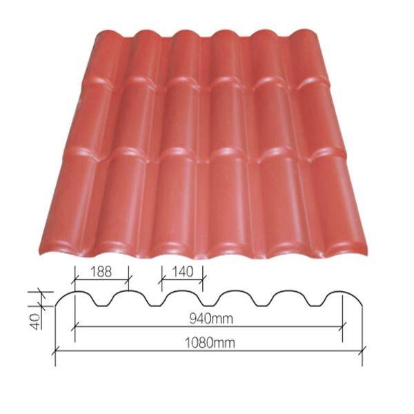 Mat riaux de construction toit types de toiture feuilles plastique pvc fe - Type de materiaux de construction ...