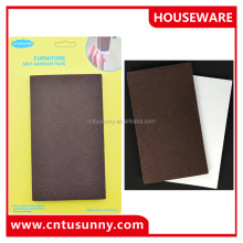 best selling china felt bottoms for furniture feet pads