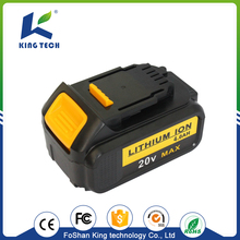 Volume supply excellent quality 20V power tool lithium ion battery 2000mAh
