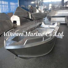 v bottom aluminum fishing boat with trailer for sale
