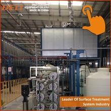 curing oven using international brand components for e-coating line